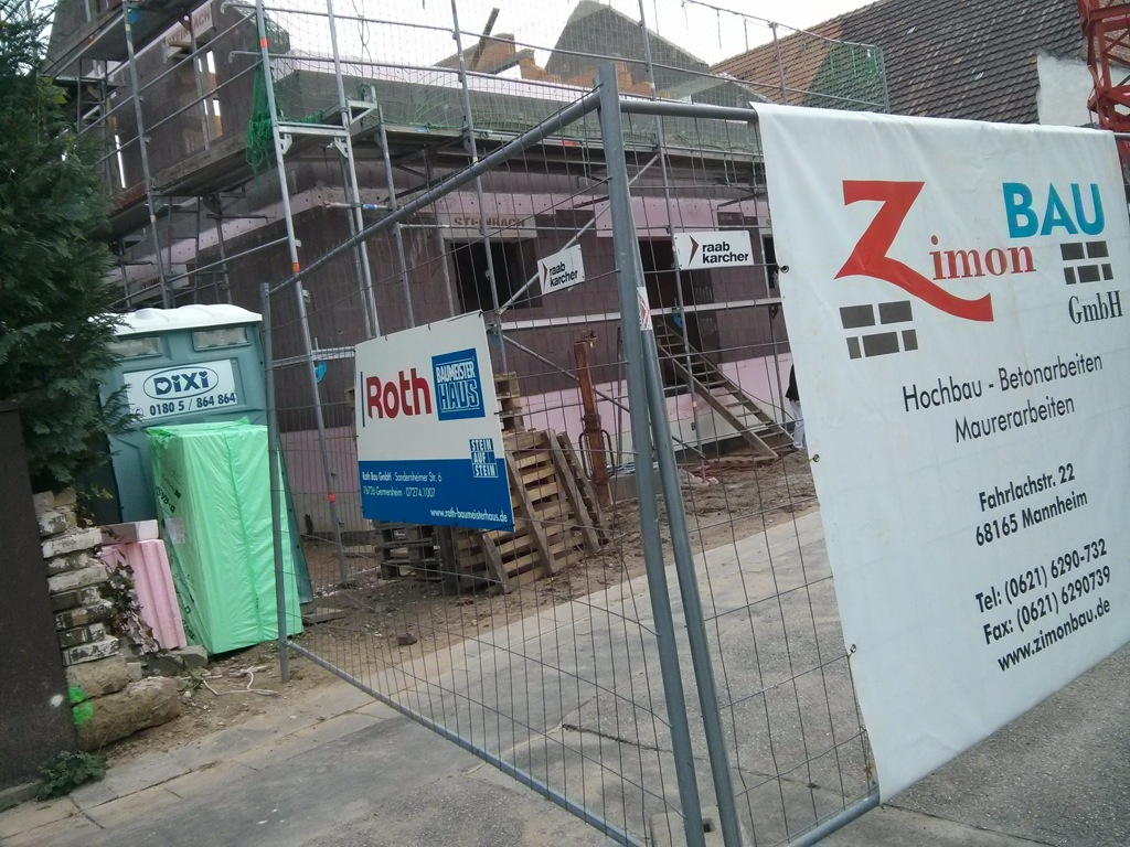 Roth Baumeister Haus KW 51 - Rohbau fast fertig