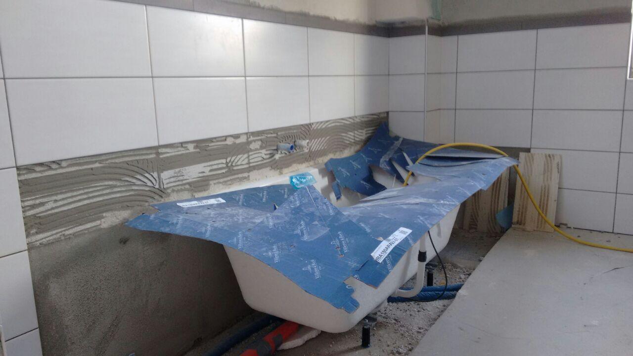 Badewanne Mit Bodenfliesen Verkleiden: Badewanne ytong verkleiden ...